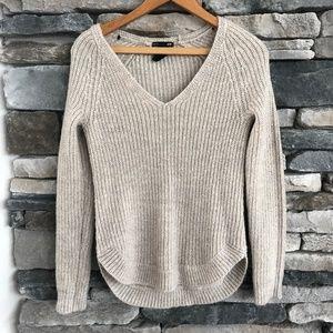H&M Women's Size XS V Neck Soft Loose Knit Sweater